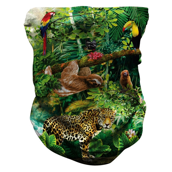 ADULT RAINFOREST PRINT NECK GAITER