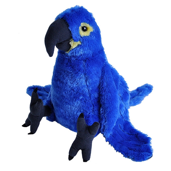 HYACINTH MACAW STUFFED ANIMAL - 12""