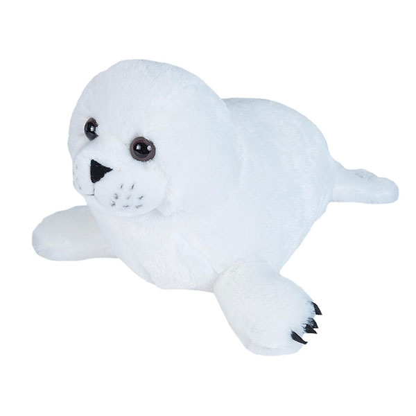 HARP SEAL PUP STUFFED ANIMAL - 15""