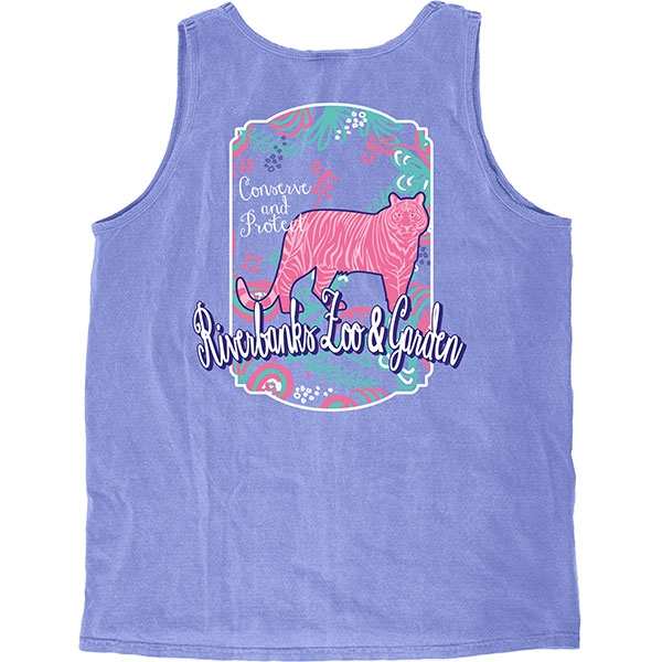 LADIES TANK BRIGHT TIGER