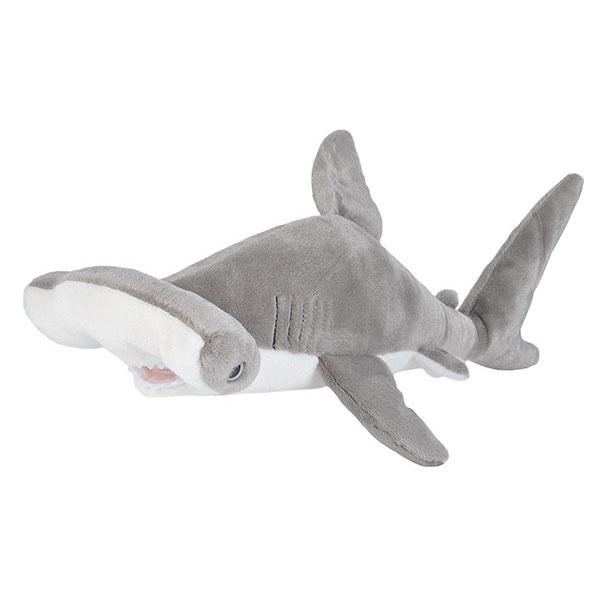 "HAMMERHEAD SHARK STUFFED ANIMAL - 15"""