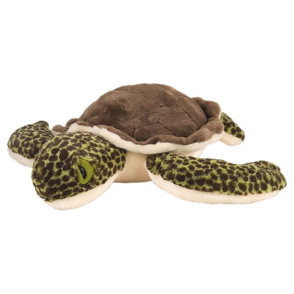 SPOTTED TURTLE STUFFED ANIMAL - 12""