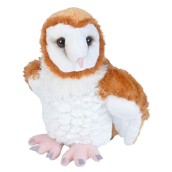 "BARN OWL STUFFED ANIMAL - 12"""