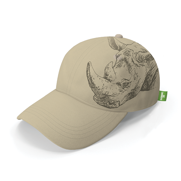 ADULT BASEBALL RHINO HAT