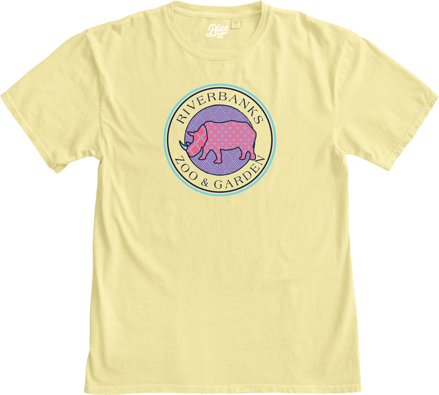LADIES SHORT SLEEVE RHINO CIRCLE TEE